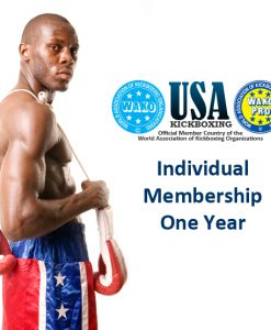 WAKO USA Club Adult Athlete Membership (19+ Years)