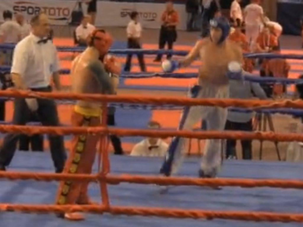 Nathan Key's Quarterfinal Bout vs. Macedonia