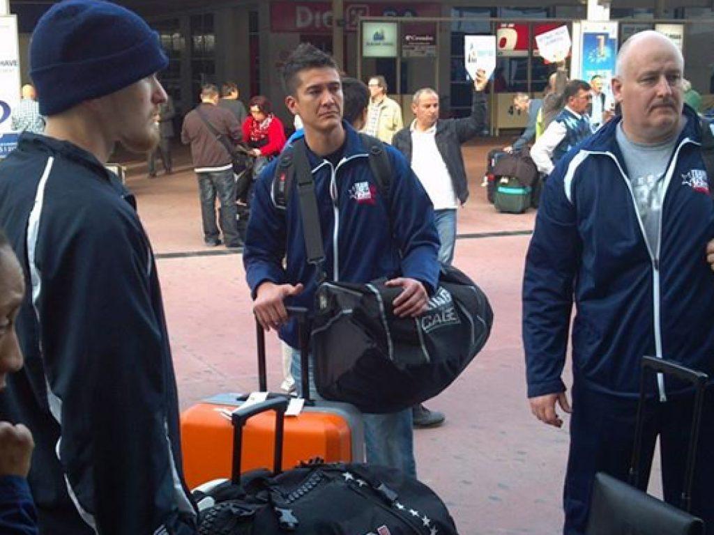 Team USA Arrives in Antalya, Turkey