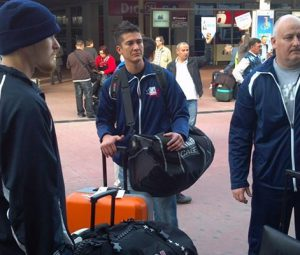 Team USA Arrives in Antalya, Turkey