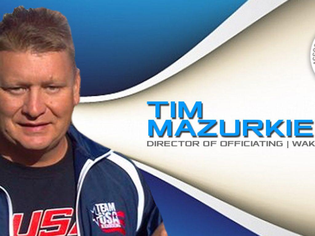 Tim Mazurkiewicz Named Pan-Am Director of Officiating