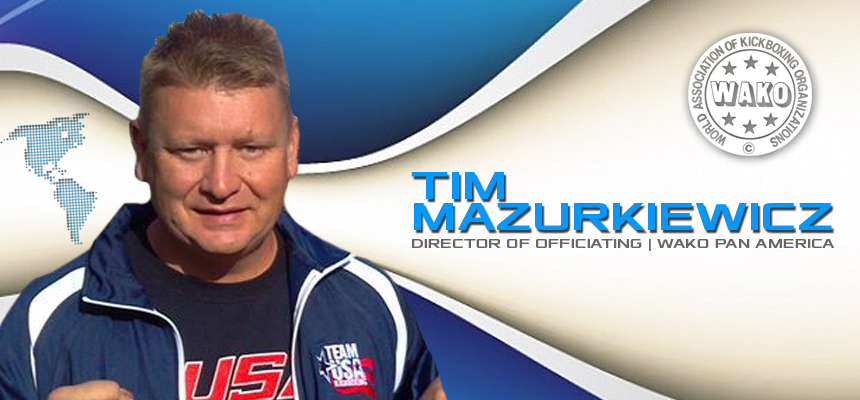 Tim Mazurkiewicz Named Pan-Am Director of Officiating