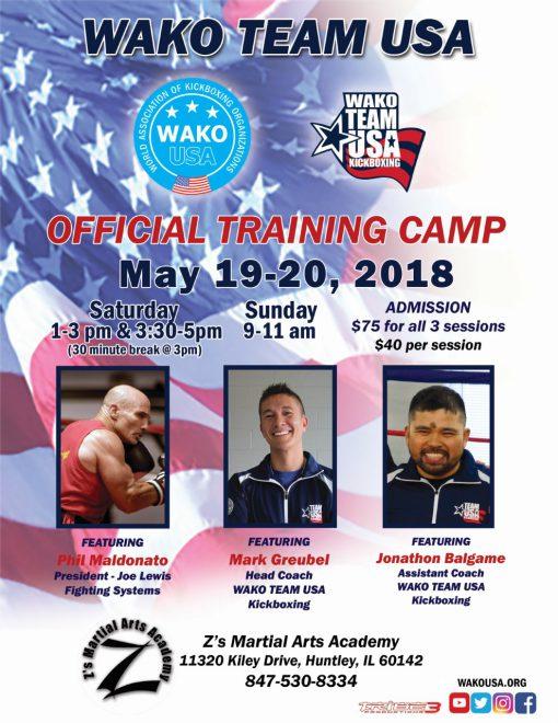 Training camp 5-19