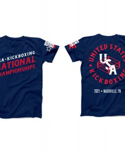 2021 WAKO USA National Tournament Shirt
