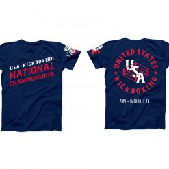 2021 WAKO USA National Tournament Shirt