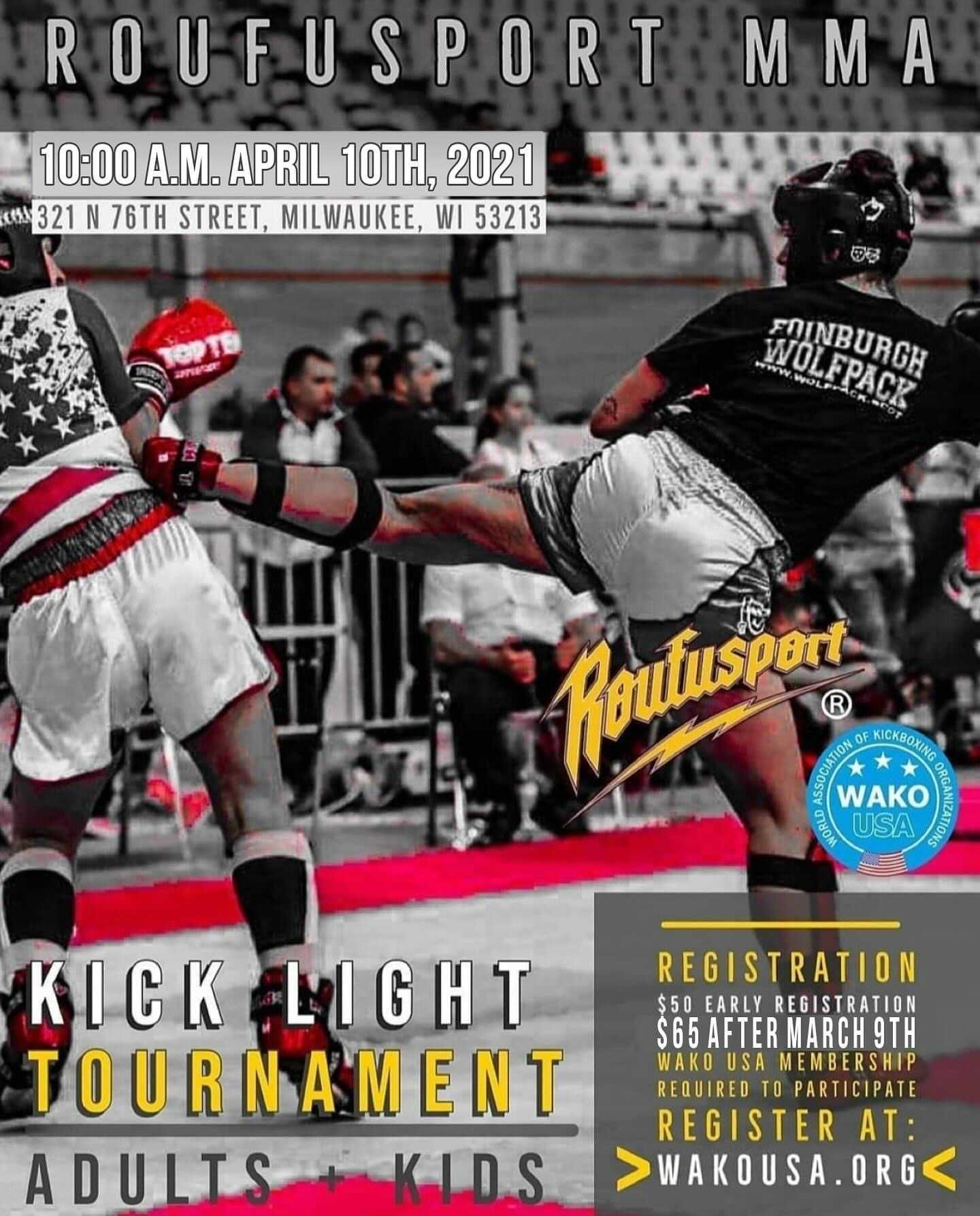 Roufu Sport MMA April 2021 Kick Light Tournament