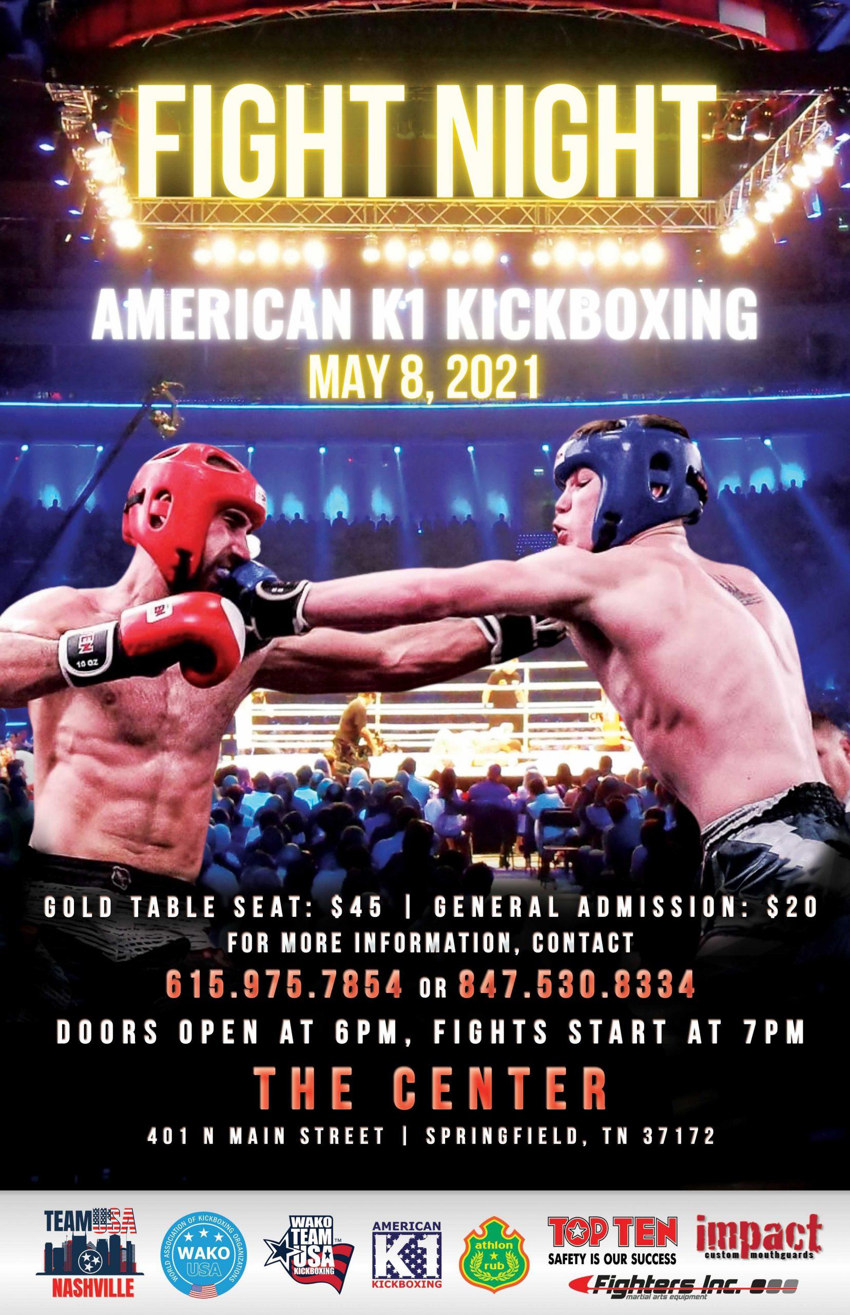 Fight Night May 2021