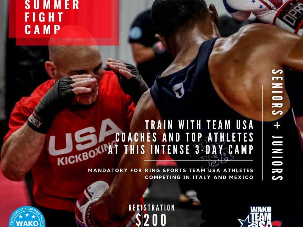 WAKO USA Summer Fight Camp