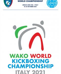 WAKO World Championships – Full Balance for Single Room Athlete