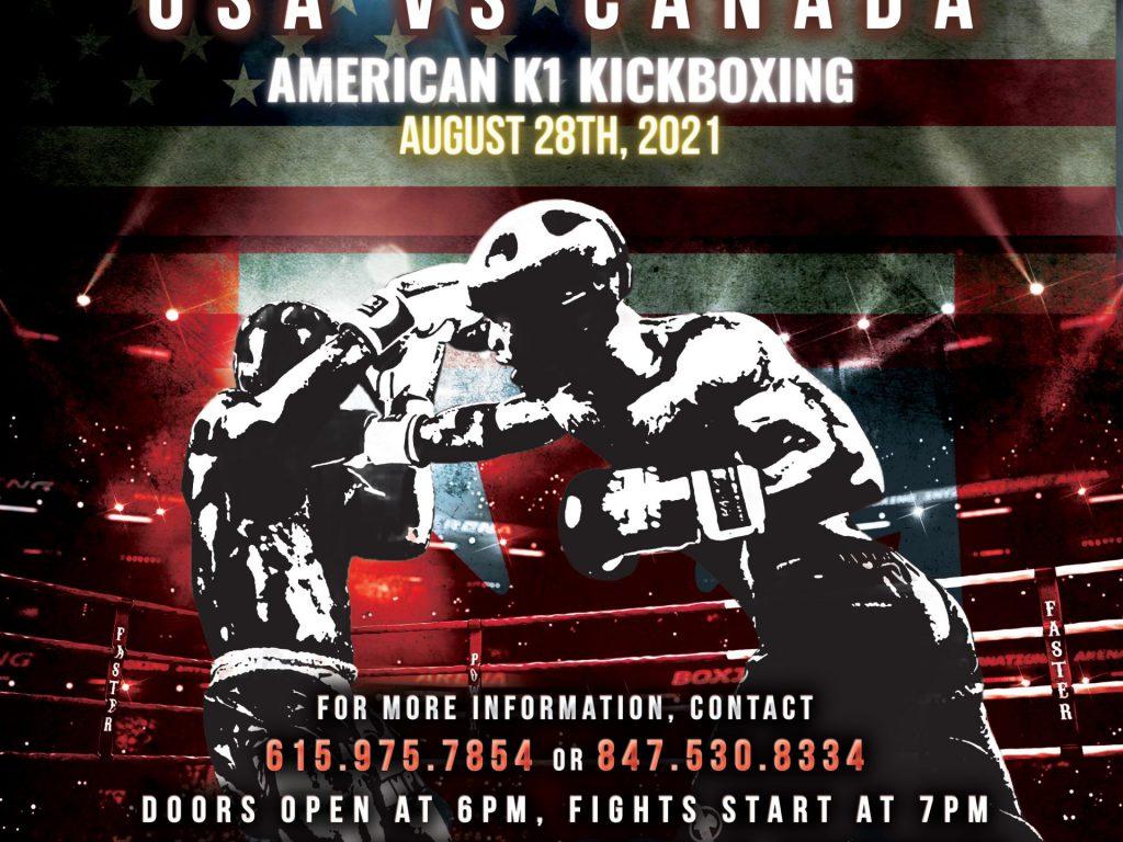 USA Kickboxing Fight Night